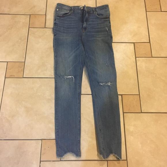 Zara Denim - High waisted jeans